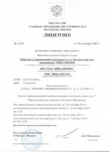 """ЧОП """"НИКА-ПРОФИ"""""""