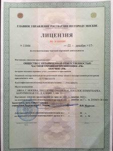 """ЧОО """"Русские Витязи"""""""