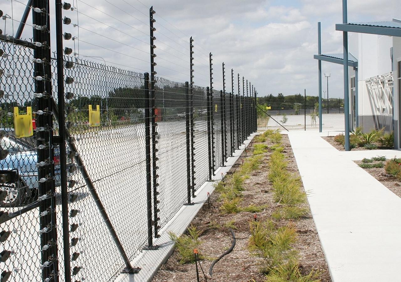 Фотоэлектрические двухлучевой периметр забор