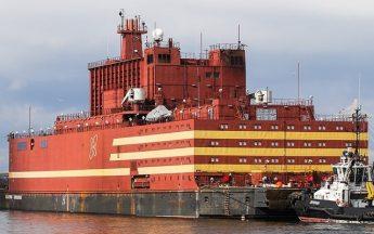 Единственная в мире плавучая АЭС взята под охрану Росгвардией