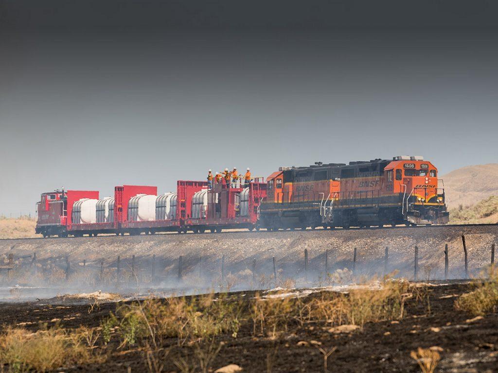 Сопровождение грузов на железной дороге